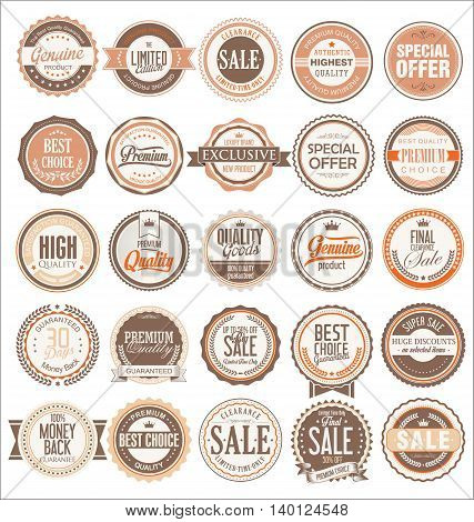 Retro Badges And Labels Collection 2.eps