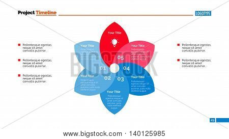 Process chart slide template. Business data. Graph, diagram, design. Creative concept for infographic, templates, presentation, report. Can be used for topics like planning, management, production.