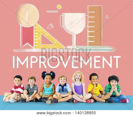 Improvement Develepment Enhance Refine Growth Motivation Concept