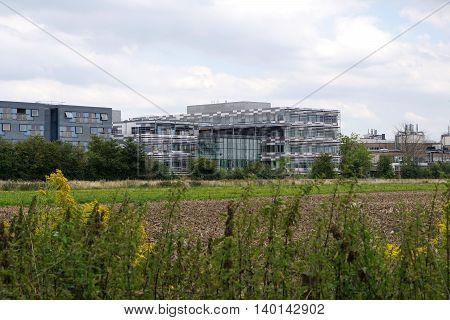 Departmental buildings and apartments, West Cambridge site, University of Cambridge