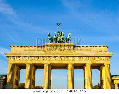 Brandenburger Tor, Berlin Hdr