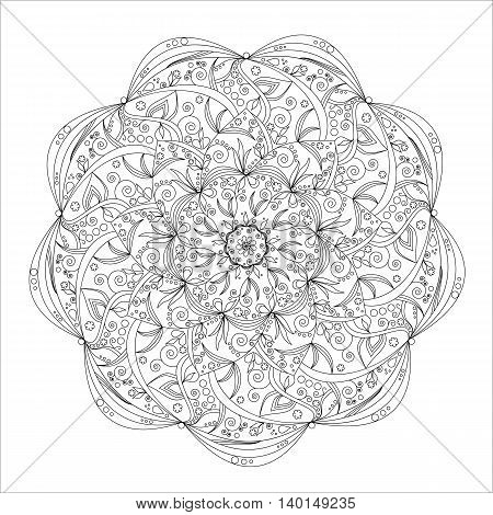 Mandala, pattern, symbolizing the harmony of the world