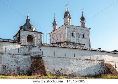 Goritsky Monastery of Dormition in Pereslavl Zalessky. Church of All Saints of 1670 of construction.