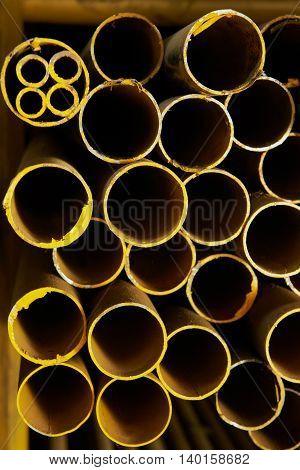 Yellow Iron Tubes