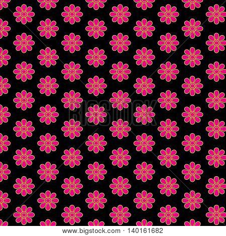 Flower pattern design for background or wallpaper.