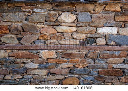 beautiful modern stone brick texture wall background
