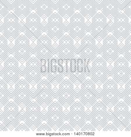 Gray abstract transparent fabric pattern background vector