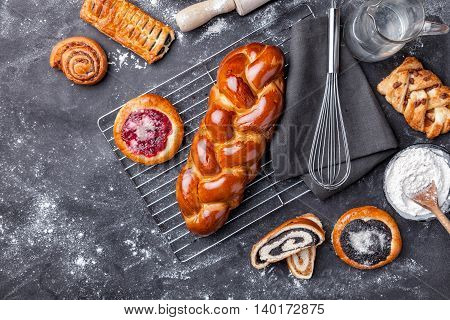 Delicious And Sweet Seasonal Pastry Background