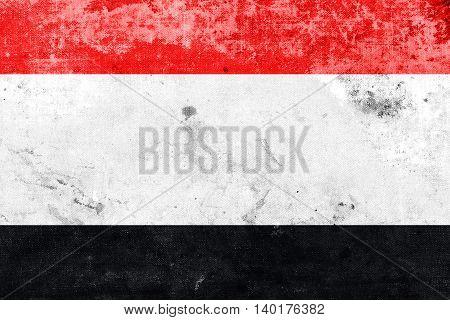 Flag Of Kuyavian-pomeranian Voivodeship, Poland, With A Vintage