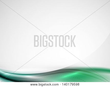 Rainbow color glossy silk elegant wave. abstract background