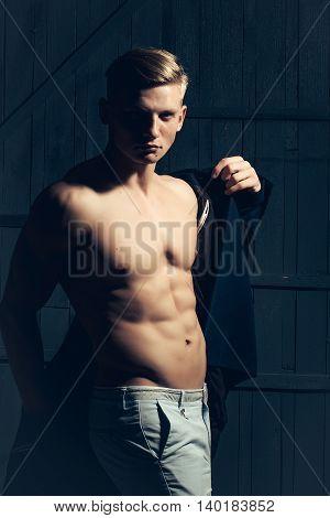 Stylish Sexy Man