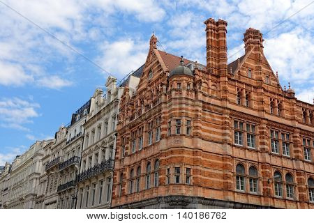 Buildings on Ludgate Hill in the City of London UK.