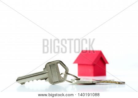 House Key For Real Estate Concept