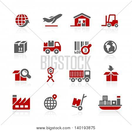 Industry and logistics Icons