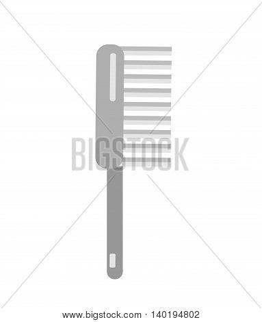 Brush fetlock icon Flat style vector illustration
