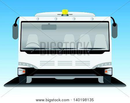 Front View Bus 01