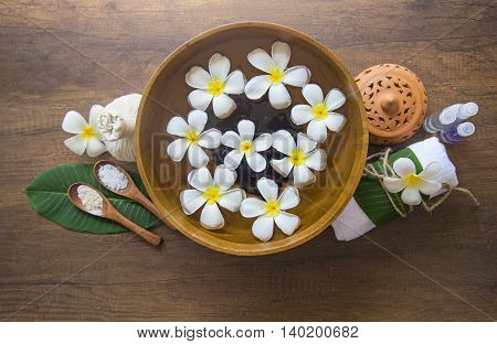 Spa treatment and product for female feet spa, Thailand. select focus