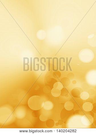 Abstract golden stars background luxury Christmas holiday wedding background brown frame bright spotlight smooth vintage background texture gold paper design bronze brass background sunshine gradient