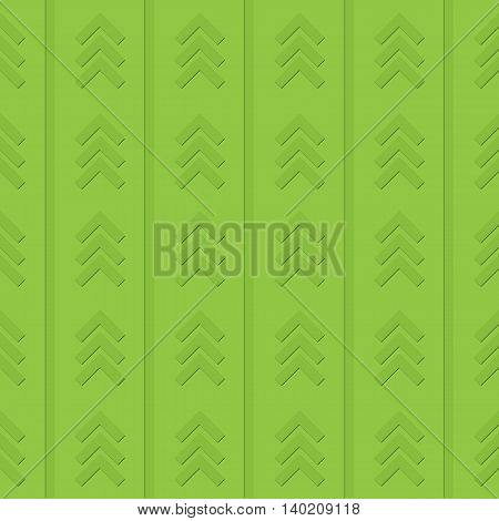 Green abstract background image with arrows and lines.