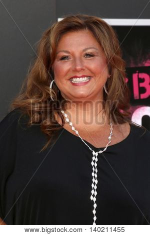 LOS ANGELES - JUL 26:  Abby Lee Miller at the