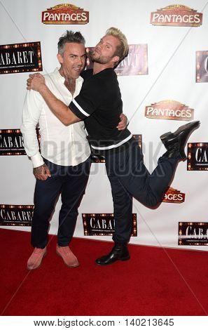 LOS ANGELES - JUL 20:  Brandon Liberati, Craig Ramsay at the