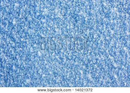 Snow cool surface