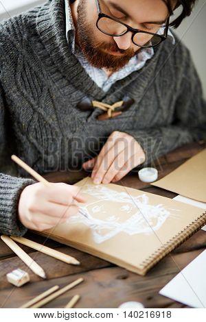 Drawing at leisure