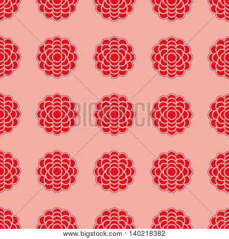 Seamless pattern. Vector repeating texture. Vector illustration.