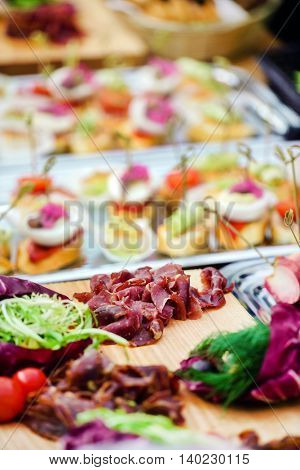 outdoor catering