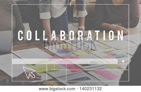 Collaboration Group Team Partnership Concept