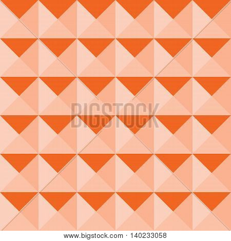 Abstract seamless triangular pattern background vector illustration.