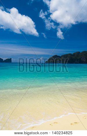 Divine Coastline Lagoon Landscape