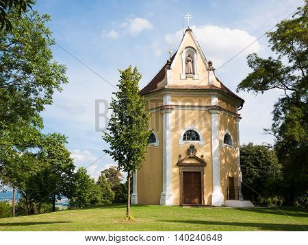 Christian chapel of Saint Anthony in Moravia region