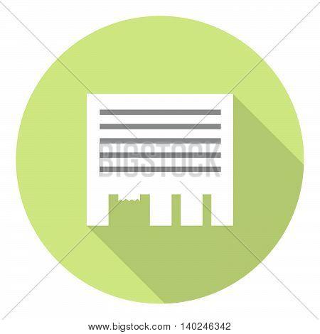 Advertisement Paper Sheet Flat Icon