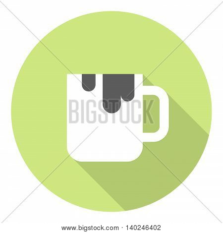 Cup Of Sweet Drink Flat Icon