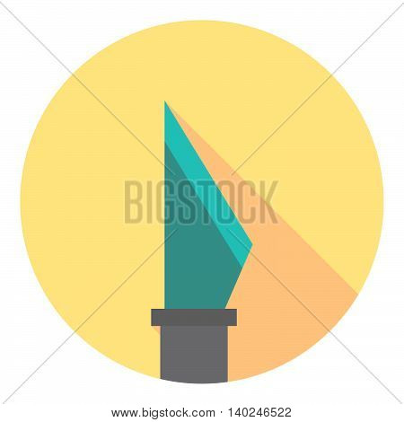 Scalpel Medical Tool Flat Icon