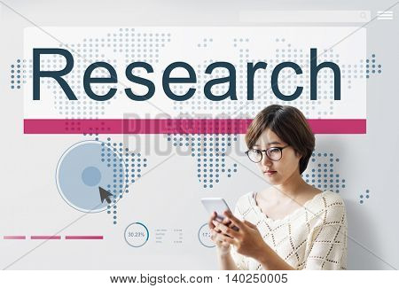 Research Education Exploration Information Concept