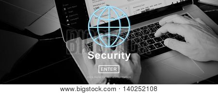 Security Protection Confidentiality Insurance Concept