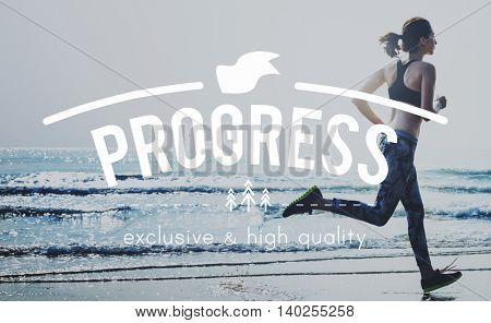 Progress Advance Change Development Growth Concept