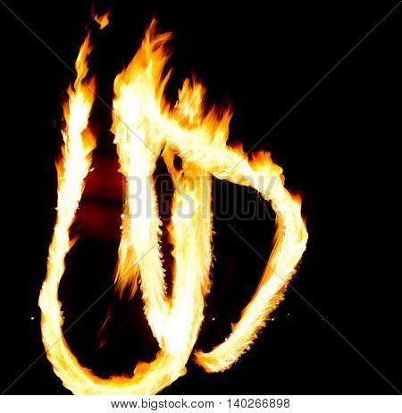 Fiery Motion Gasoline Dance