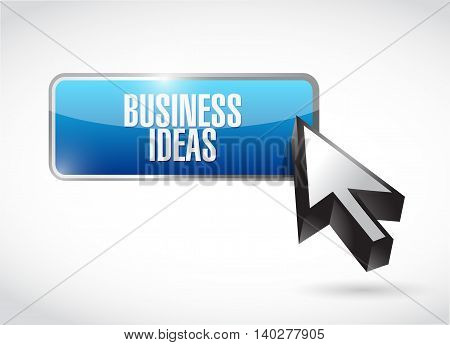 business ideas button sign concept illustration design graphic