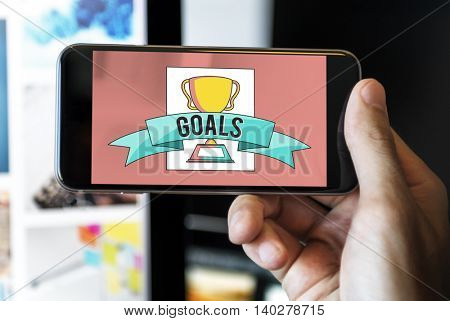 Goals Communication Achievement Excellence Concept