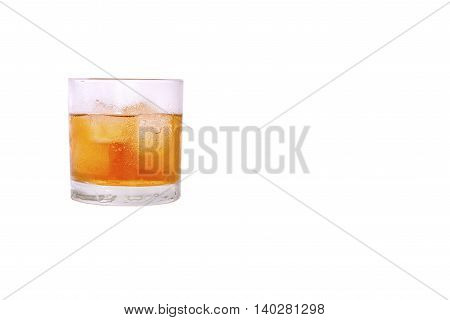 glass of sweet iced tea is refreshing