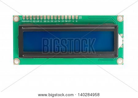 1602 16x2 Character Blue LCD Display Module