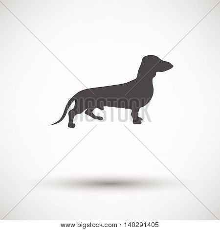 Dachshund Dog Icon