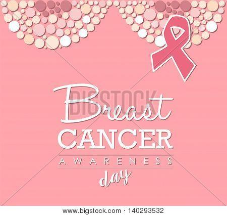 Breast Cancer Awareness Day Pink Design