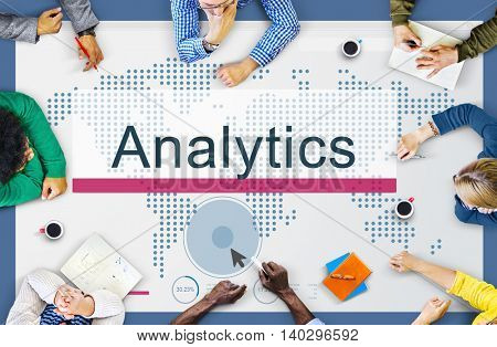 Analysis Analytics Information Study Process Concept
