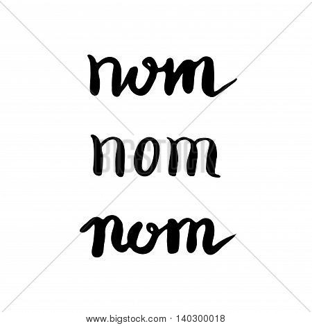 Food Typographic Quote Card