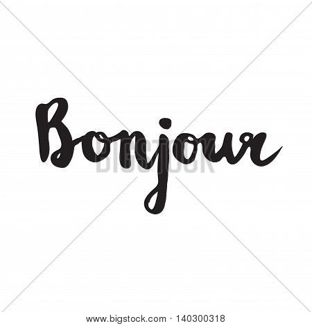 French Quote - Bonjour.