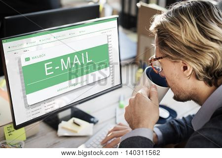 Email Message Digital Electronic Communication Concept